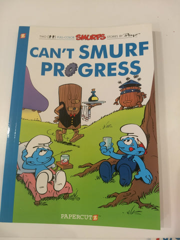 Can't Smurf Progress