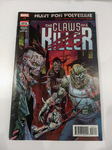 HUNT FOR WOLVERINE THE CLAWS OF A KILLER #3