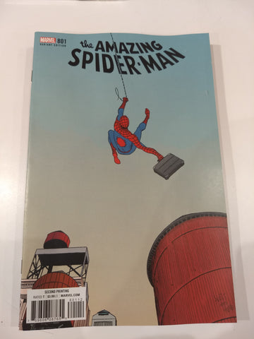 THE AMAZING SPIDER MAN #801 VAR
