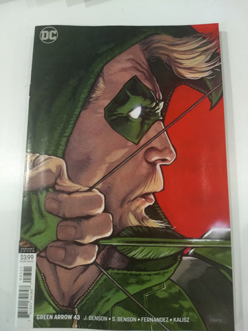 Green Arrow #43 VAR