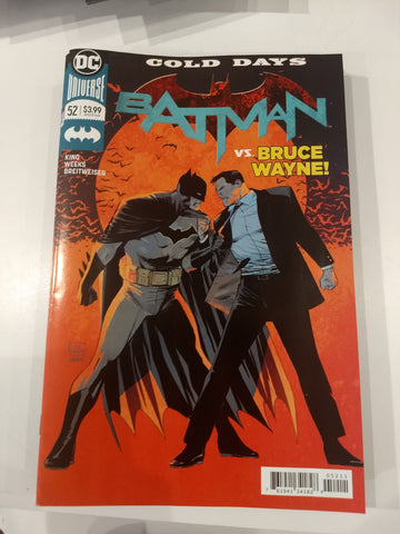 Batman #52 vs Bruce Wayne