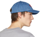 Levi's Blue Denim Logo Cap