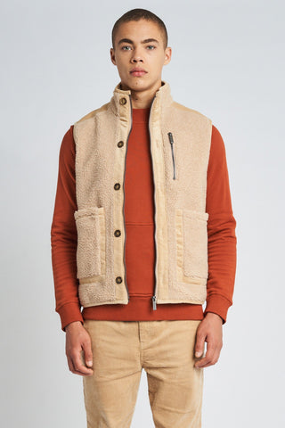 ETHAN SHERPA GILET Native Youth