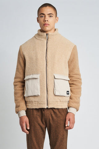 WYATT SHERPA JACKET Native Youth
