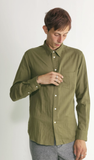 Double Cloth in Olive