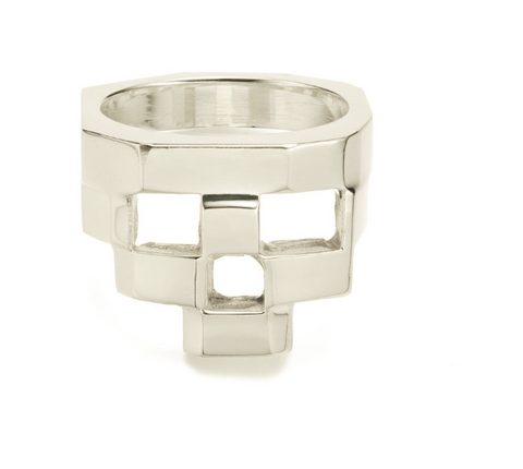 STACKED - RING - 925 STERLING SILVER