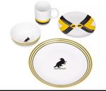 HP HOGWARTS DINNER SET HUFFLEPUFF