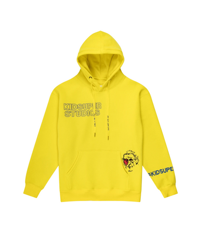 KidSuper Super Sweatshirt Yellow