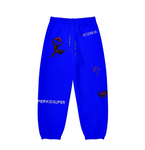 KidSuper Super Sweatpants Blue