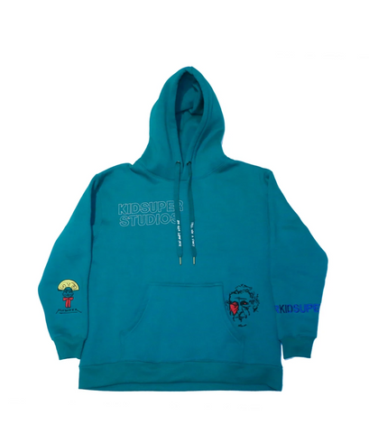 KidSuper Super Sweatshirt Green