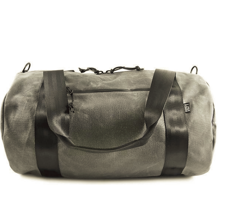The Ultimate Overnighter | Grey Wax Canvas