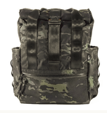 VerBockel Rolltop Backpack | Rogue Camo | External Pocket