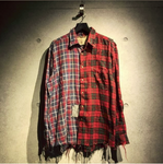 Double Plaid Red Shirt