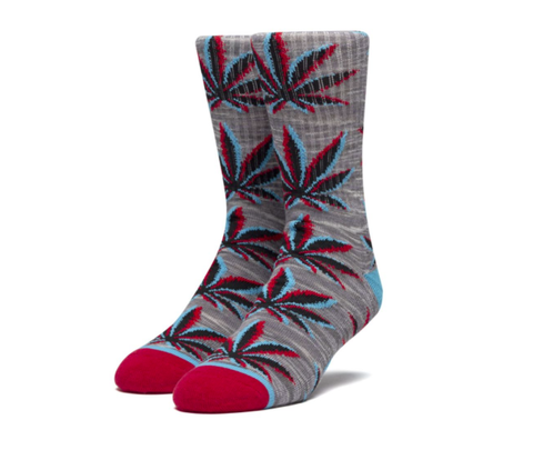Static Plantlife Sock Gray Huf