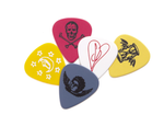 Huf SPACEBOY GUITAR PICK SET - 5 PACK  Smashing Pumpkins