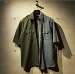 Military Denim Shirt