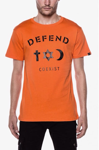 Coexist Tee Orange