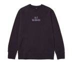 Woz Crewneck Sweater Navy Huf