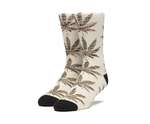 Plantlife Melange Leaves Socks Unbleached