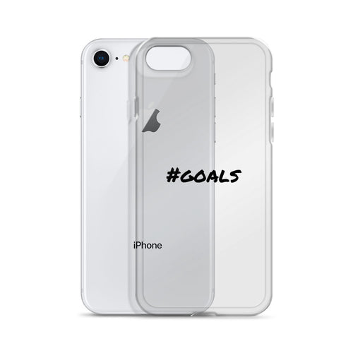 hashtag GOALS iphone case