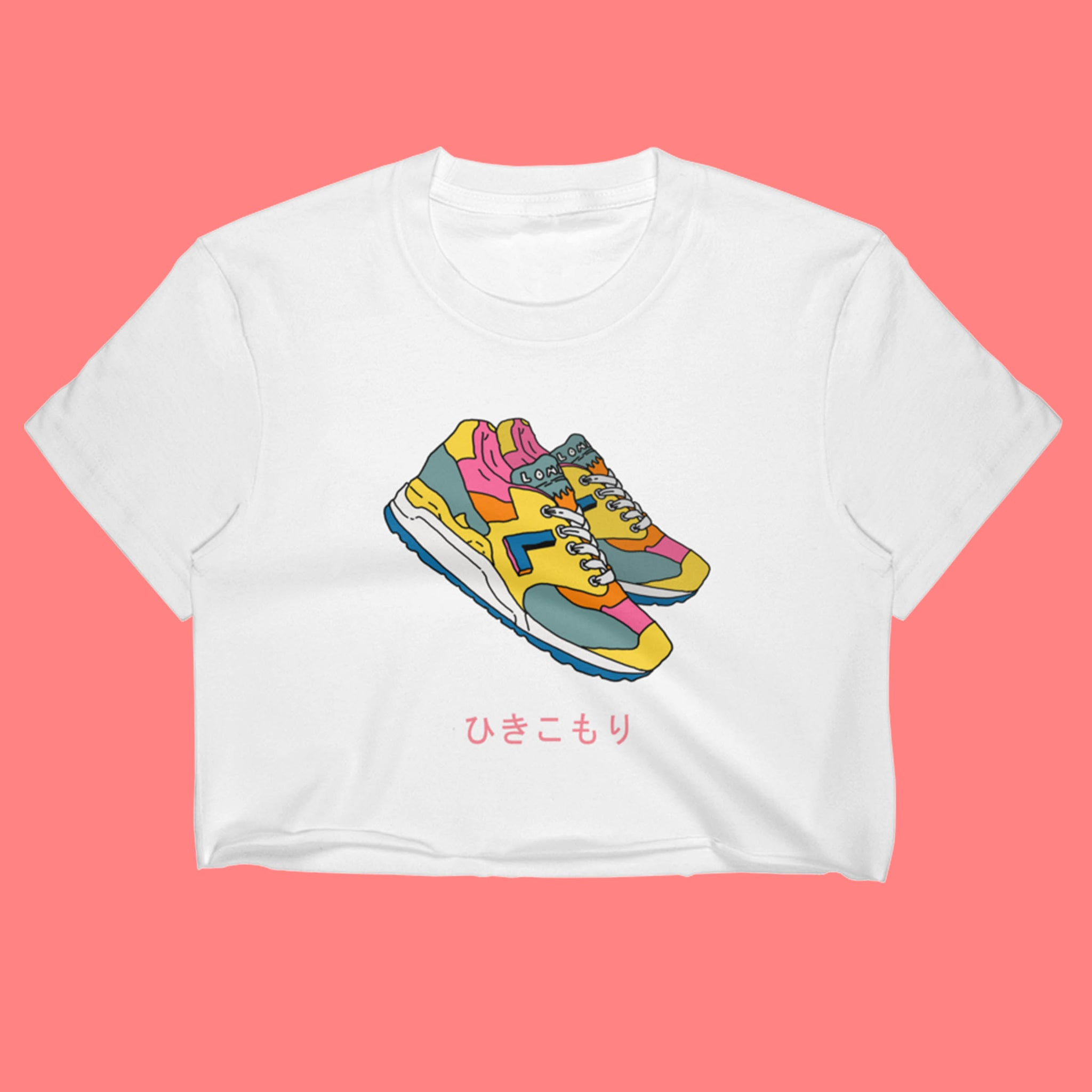 Hikikomori Colorway Crop Top