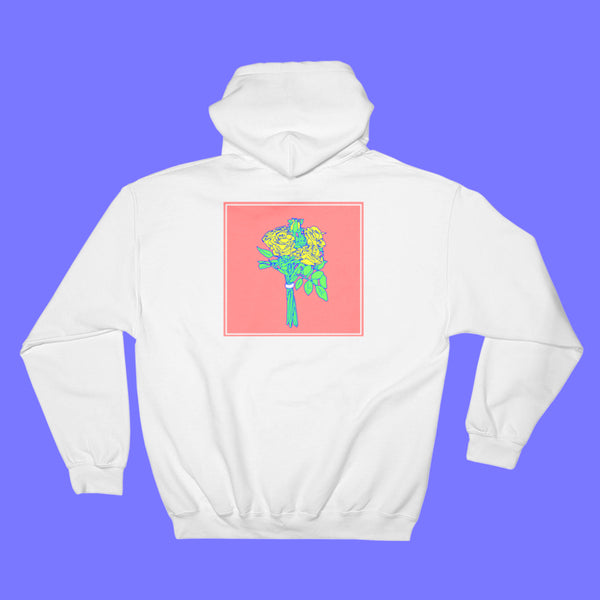 Bouquet White Hoodie