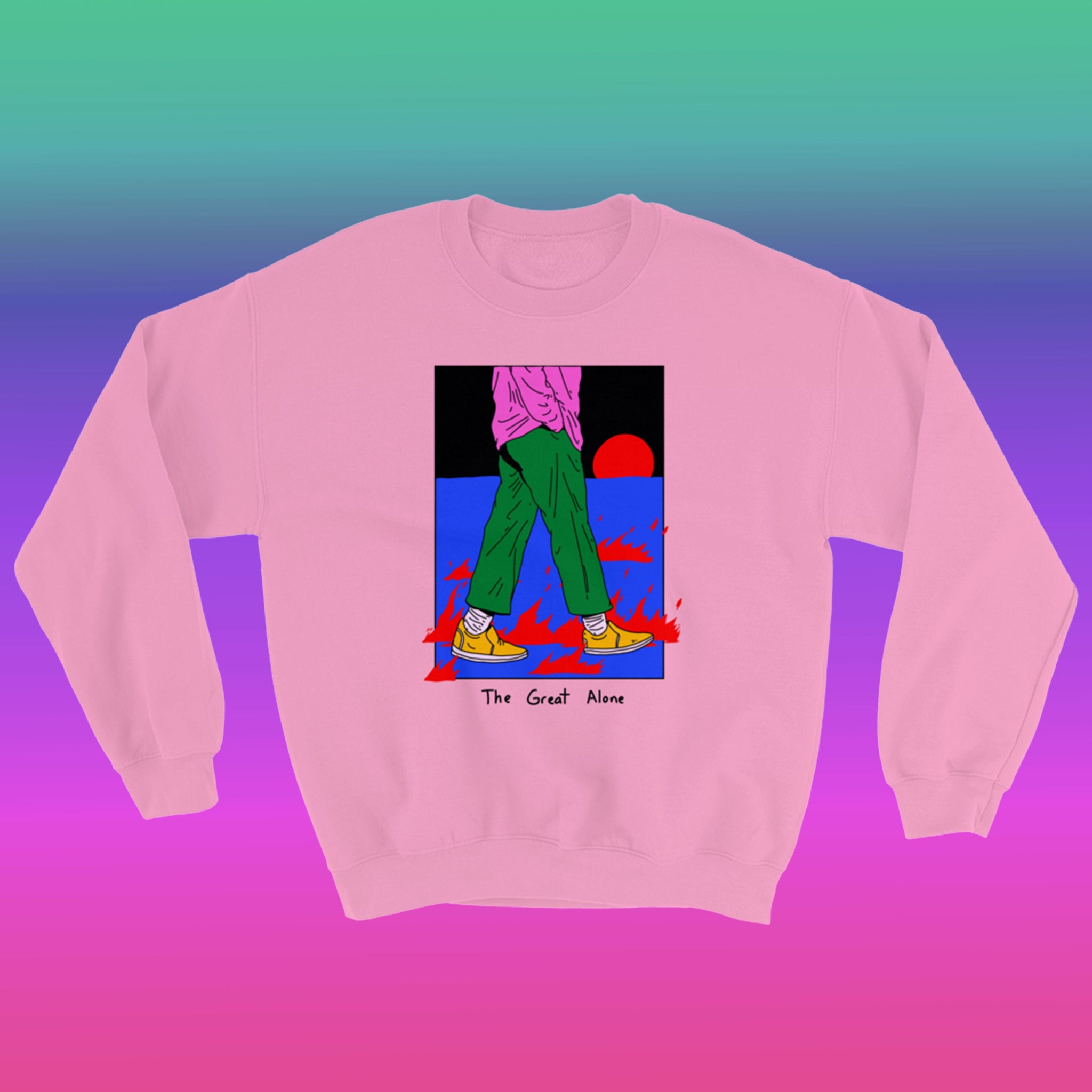Great Alone Crewneck - Pink