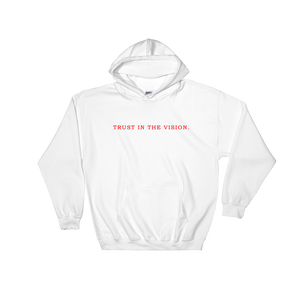 Trust in the Vision Hoodie (White)