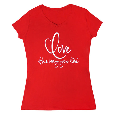 Women V-Neck Tee Shirt