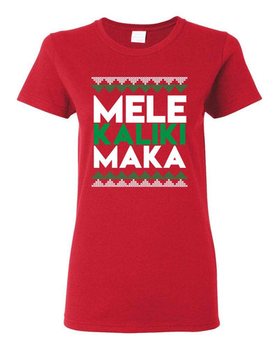 Mele Kalikimaka Red T-Shirt