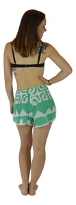 Aloha Royale - Beach Babes - Hawaiian Hibiscus - Green