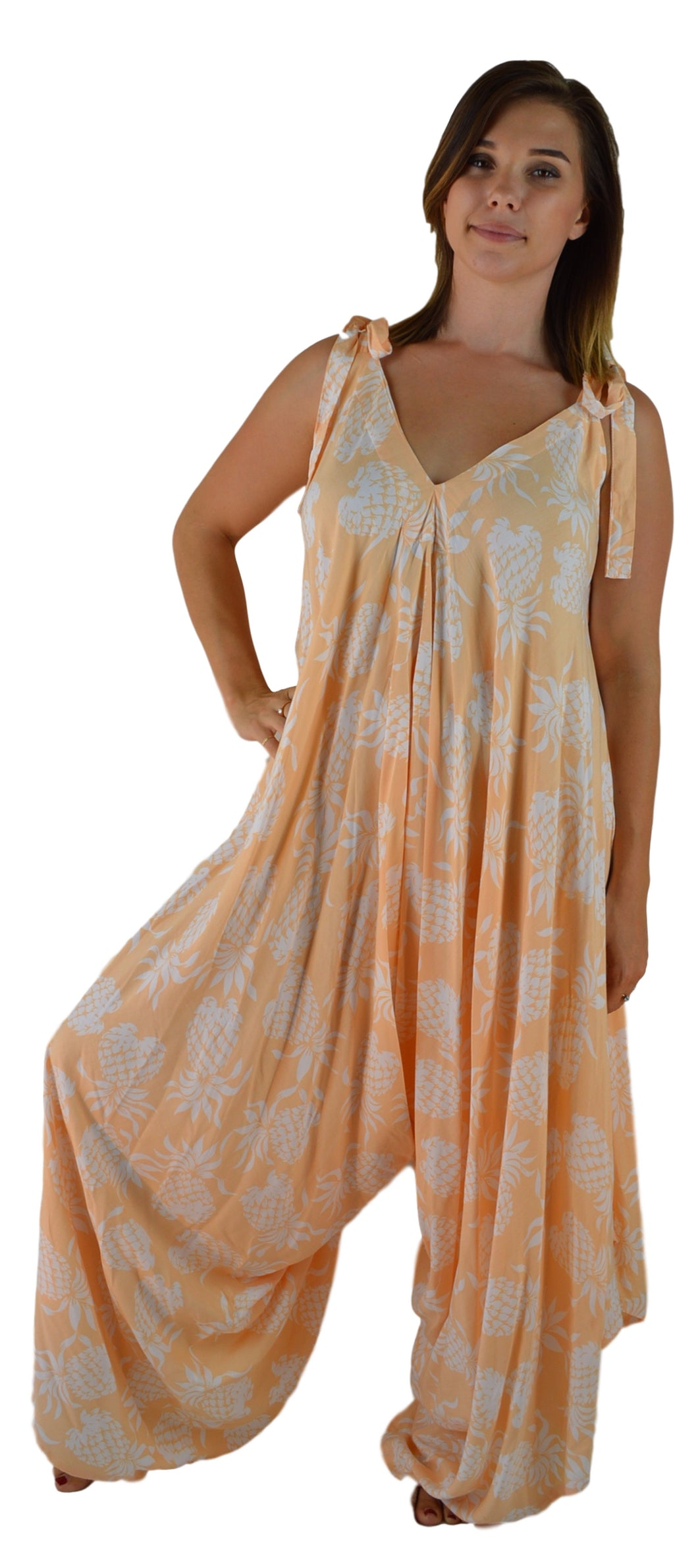 Secret Beach - Bali Jumper - Pineapple - Bleached Apricot