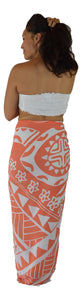 Island Style - Hawaiian Turtle - Orange