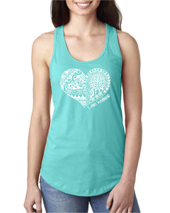 I AM WAHINE - Tahiti Blue Tank Top - Ladies