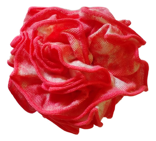 Aloha Royale - Pin - Fabric Flower - Seashore - Coral