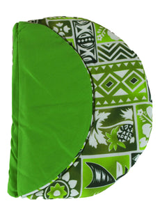 Maui Micro Mitts - Potato Pocket -  Hawaiian Print - Green