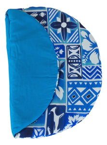 Maui Micro Mitts - Potato Pocket -  Hawaiian Print - Blue
