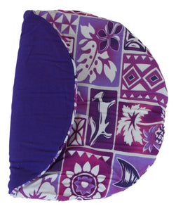 Maui Micro Mitts - Potato Pocket -  Hawaiian Print - Purple