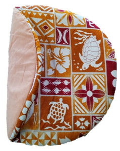 Maui Micro Mitts - Potato Pocket -  Hawaiian Print - Brown