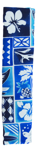 Galley World - Galley World Appliance Handle - Hawaiian Print - Blue