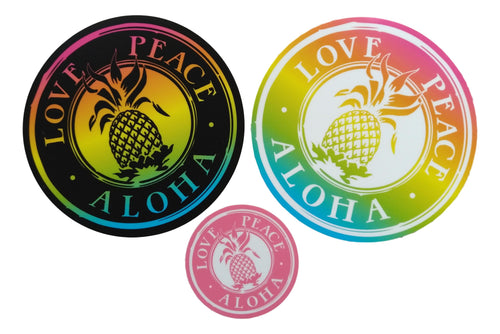 Sticker Pack - Love Peace Aloha 1 each