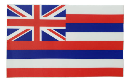 Sticker - Hawaiian Flag - 4 inch