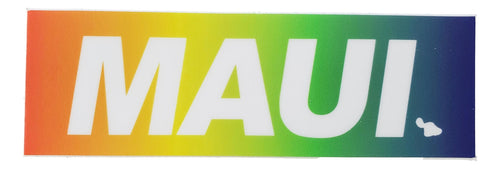 Sticker - Maui Rainbow - 4 inch
