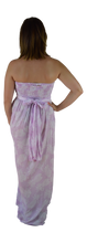 Secret Beach - Wailea Long Dress - Pineapple - Pink Lavender