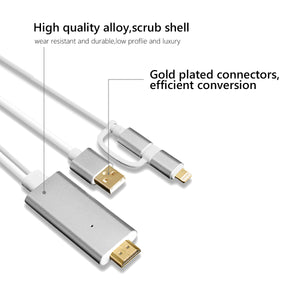 LOMEBRAND™ - MOBILE HDMI CABLE ADAPTER