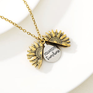 You Are My Sunshine Necklace 🌻