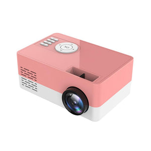 LOME™ PINK PROJECTOR - PORTABLE PROJECTOR
