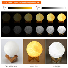 Load image into Gallery viewer, Moon Lamp 🌕