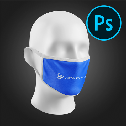 Face Mask PSD Mock-Up
