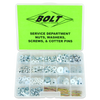 Service Department Nuts, Washers, & Cotter Pins Assortment & Refills
